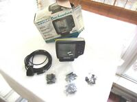 Humminbird Wide One Hundred Fish Finder W/ Power Cord/ Transducer/hardware