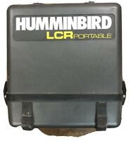 Hummingbird LCR 4000 Portable Fishfinder w/ Case Fish Tracker Works Perfect!
