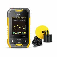 LUCKY Fish Finder Wired Fishing Sonar with Barometer and LCD Display for Ice