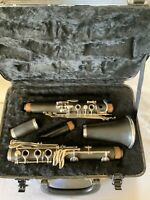 Bb Clarinet - Used Wood Beginner With Yamaha Mouthpiece And Hard Case