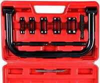 Valve Spring Compressor Kit Clamp Tool For Car Motorcycle ATV  Truck Engine
