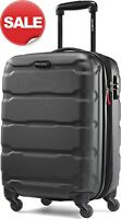 Samsonite Omni PC 20 inch Hardside Expandable Spinner Luggage Carry On Black