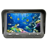 Underwater Ice Video Fishing Tools Camera 4.3 Inch Lcd Monitor 6 Led 720P  Q1R9