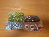 Lot of 1125+ Monster Energy Drink Can Tabs for Monster Unlock the Vault Gear