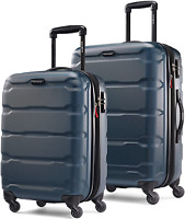 Samsonite Omni PC Hardside Expandable Luggage with Spinner Wheels Teal 2-Piece