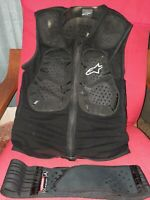 Alpinestars Racing Track Vest 2 Mens Tech Motorcycle Protection XC  Bike LG ATV