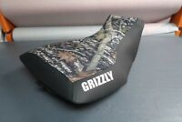 Yamaha Grizzly 660 Camo Top Logo Seat Cover #yz67kya67
