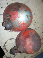 VINTAGE  MASSEY FERGUSON  1100 D  TRACTOR -2  HEAD / WORK LIGHT HOUSINGS