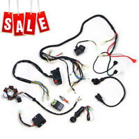 Wiring Harness Kit Magneto Stator For GY6 125 150cc ATV Quad Scooter W/CDI USA