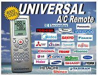 Universal A C Remote Control With 4000 Thousand Codes. Fast USA Shipper $13.50