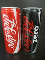Coca cola Israel : 2 x 330 ml empty cans quot; Kosher for Passoverquot; logo 2000#x27;s.