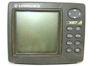 Lowrance X87 Fishfinder Fish Finder Head Unit ONLY ** Tested and Works