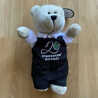 STARBUCKS BEARISTA BEAR PHILIPPINES with Black Apron 20 STARBUCKS PHILIPPINES