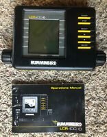 Hummingbird LCR 400 ID Fish Finder Head Unit and operations manual Only
