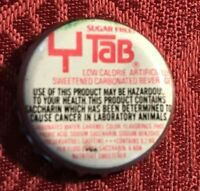 Collectible Tab bottle top. Vintage TAB Soda Top for 25 cents off. Goal post top