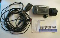 Lowrance Elite 4x Chirp Fish Finder used 1 year with cords amp; Transducer