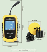 Alarm 100M Portable Sonar Fish Finders Fishing Echo Sounder FREE SHIPPING