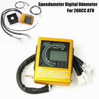 Motorcycle ATV Speedometer Digital Odometer w induction Line Stall For 200CC