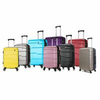 DUKAP Rodez Hardside Lightweight Spinner Luggage 20quot; 24quot; 28quot; or 3 Piece