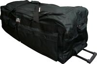 42quot; Polyester Rolling Duffle Bag Wheeled Travel Luggage Suitcase