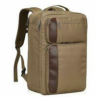 Travel Backpack Airline Approved Carry on Convertible Backpack 30L Brown