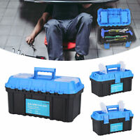 Tool Box PP Plastic Hardware Tools Storage Case Double Layer Electricia Suitcase