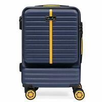 Hardside Carry on Luggage with Spinner Wheels TSA Combination Lock and Laptop...