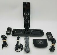 Logitech Harmony 900 Universal Remote Color Touch Screen Cradle Charger Blaster $84.99