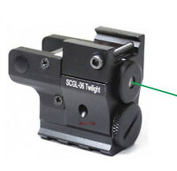 Vector Optics Green Laser Sight for Pistol Ruger Glock Walther w/ Picatinny Rail