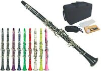 Romantic Color Clarinet Bb Great Material Technic Tone Pink Clarinets