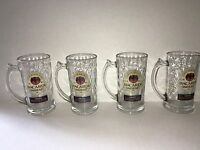 Bacardi Oakheart Glass Mug/Stein (Set of Four)