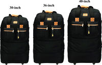 30quot; 36quot; 40quot;Expandable Rolling Duffel Wheeled Spinner Suitcase Luggage Heavy Duty