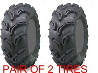Pair of 2 Maxxis Zilla 24x8-11 ATV Mud Tire Set 24x8x11 24-8-11 6 ply TWO TIRES