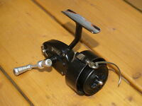 EXTREMELY RARE, VINTAGE, INVERTED (LEFTY), HALF BAIL 301 MITCHELL REEL