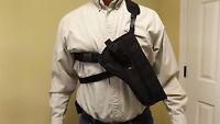 Right Hand Shoulder / CHEST Holster TAURUS RAGING BULL 8-3/8