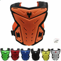 Motorcycle Vest Guard Chest/Knee Pad Protection ATV Dirt Bike Body Armor S-XXXL