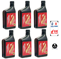 6 Klotz Super Techniplate 2-Stroke Oil 16 oz.(1/2 quart) Bottles MX ATV