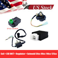 Regulator Rectifier Relay Ignition Coil CDI Chinese ATV Quad 70/90cc/110cc Parts