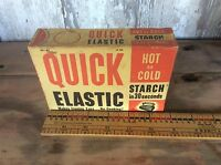 Quick Elastic Hot Or Cold Starch  , Advertising 12 Oz