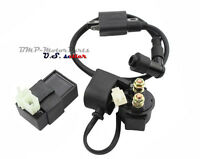 Ignition Coil CDI and Solenoid Relay for 150cc 200cc 250cc Chinese ATV 4 wheeler