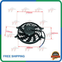ATV Radiator 12V 80W Cooling Fan For Chinese 500cc Xinyang Kazuma Jaguar quad