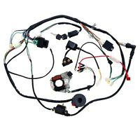 Complete Electrics Wiring Harness For Chinese Dirt Bike ATV QUAD 90/110/125CC