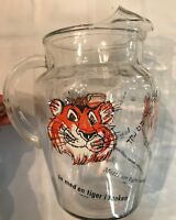 """Vintage 1960's Esso Glass Exxon """"Tiger In Your Tank"""" Gas Promo"""