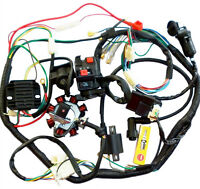 Electric kick Start Engine Wiring Harness Loom 150cc 250cc Quad Bike ATV Buggy