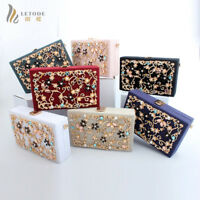 Wedding Prom Party Clutch Handbag Purse Wallet Luxury Evening Bag Women Diamond