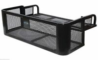 ATV Rear Drop Basket Rack Storage Universal Fit Composite Racks Cargo Hunting