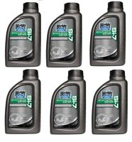 6 pk Bel-Ray SI-7 Synthetic 2-Stroke Oil 1 Liter MX Motocross ATV
