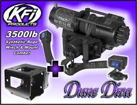 3500lb KFI Stealth Winch Mount Combo-Can-Am Renegade 500 570 800 850 1000 12-18