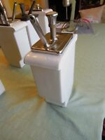 Vintage Hall Porcelain Ice Cream Soda Fountain Pump Root Beer Syrup Dispenser