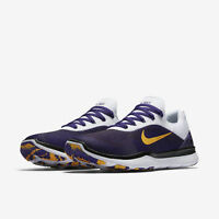 sale retailer d11e2 f598a Nike Free Trainer V7 Week Zero LSU Tigers Men s Shoes Purple Gold AA0881 500